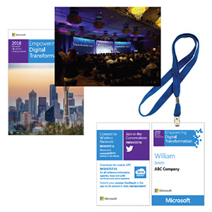 2016 Microsoft Cloud and Hosting Summit event collateral